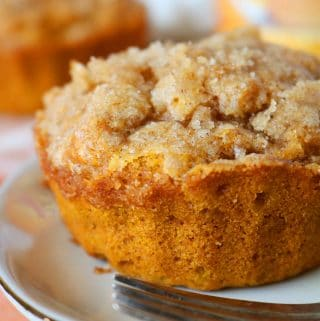 Easy Pumpkin Muffins with Big Pumpkin Spice Flavor