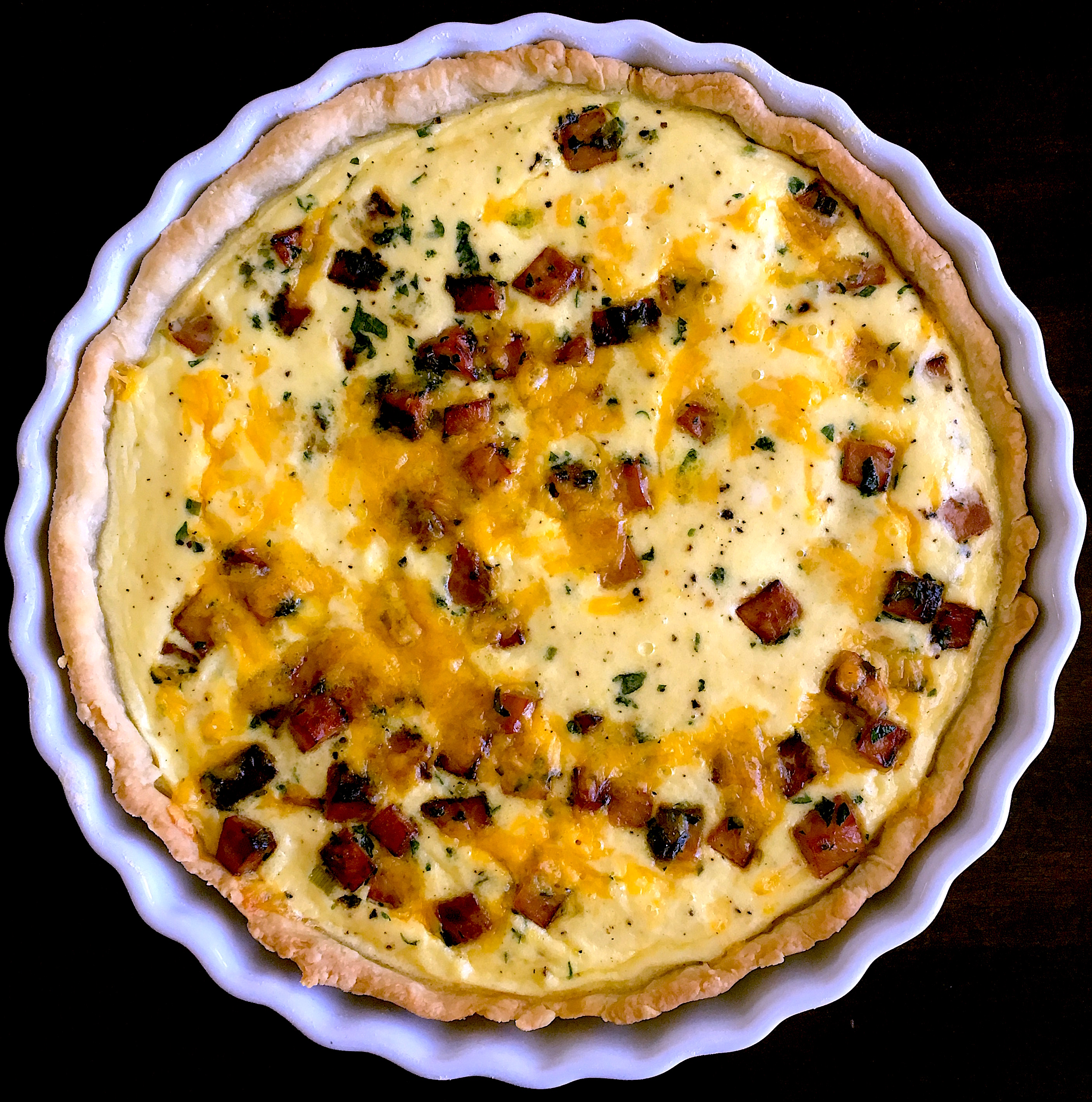 Best ever quiche lorraine ham and cheddar quiche recipe for The best quiche ever