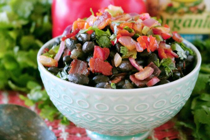 Tex-Mex Black Beans