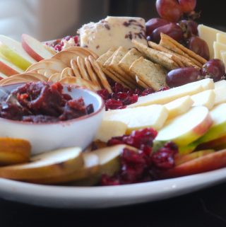 Fall Fruit and Cheese Platter