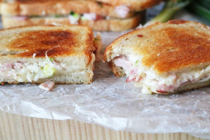 Ham Sandwich with Gruyere Cheese