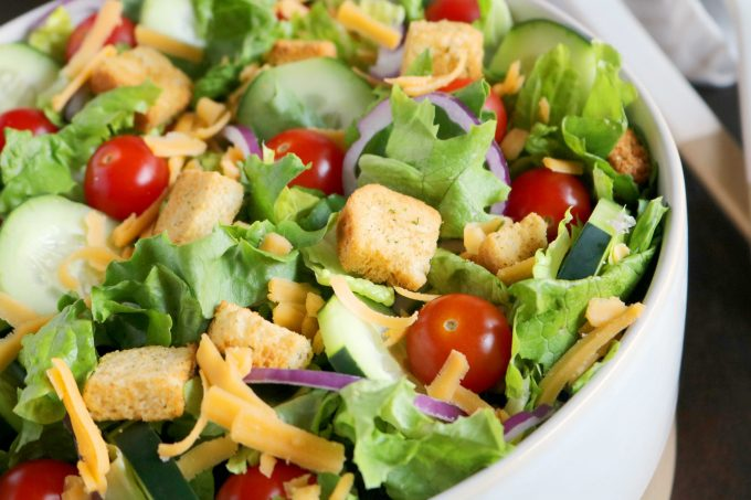 classic house salad recipe the anthony kitchen