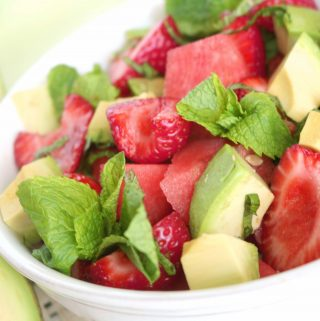 Watermelon & Strawberry Salad