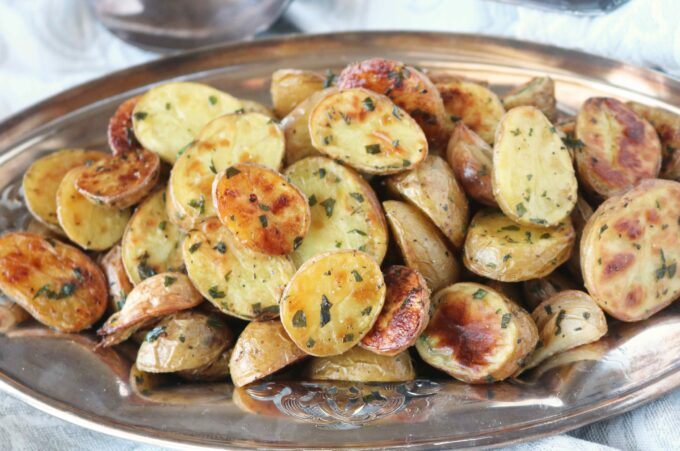 Roasted baby dutch potatoes recipe the anthony kitchen save forumfinder Gallery