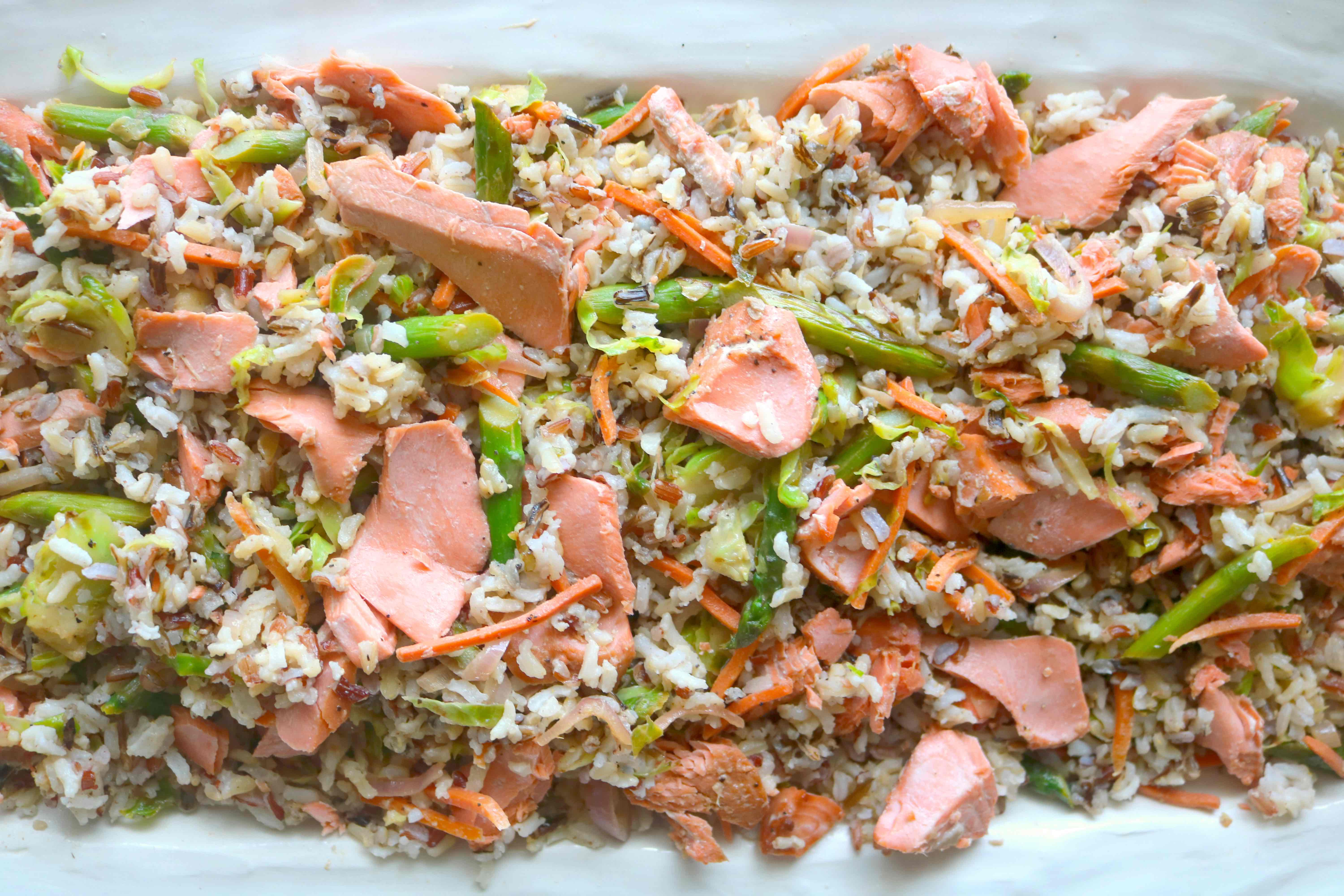 Salmon and Rice - The Anthony Kitchen