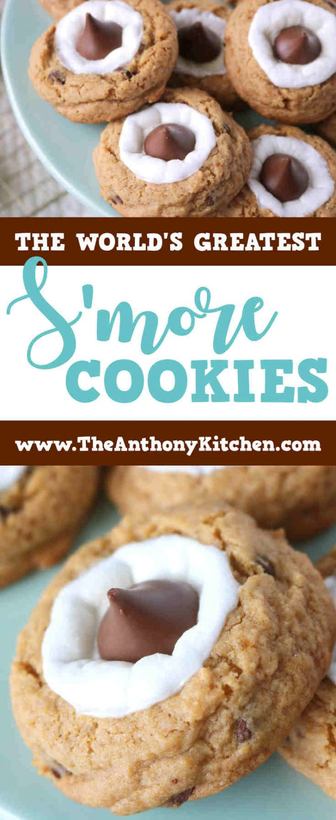 BEST SMORE COOKIE RECIPE