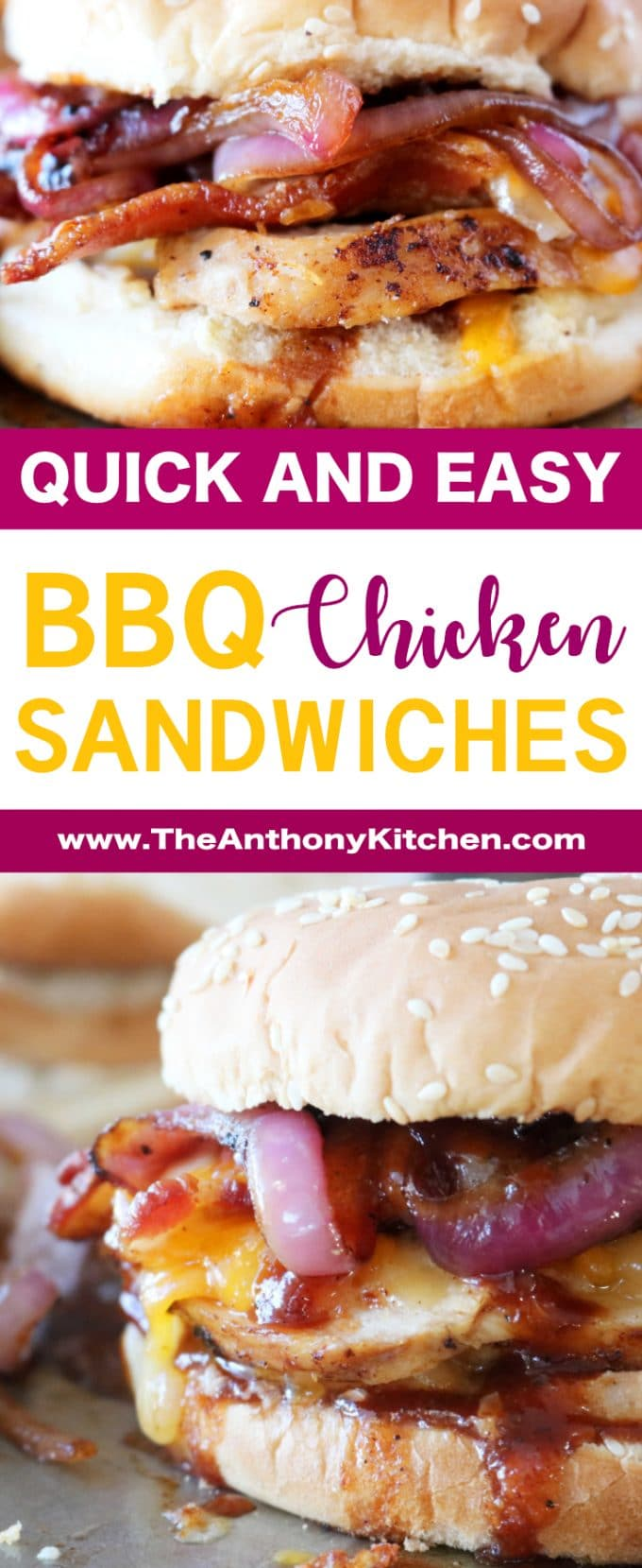 Quick BBQ Chicken Sandwich Recipe