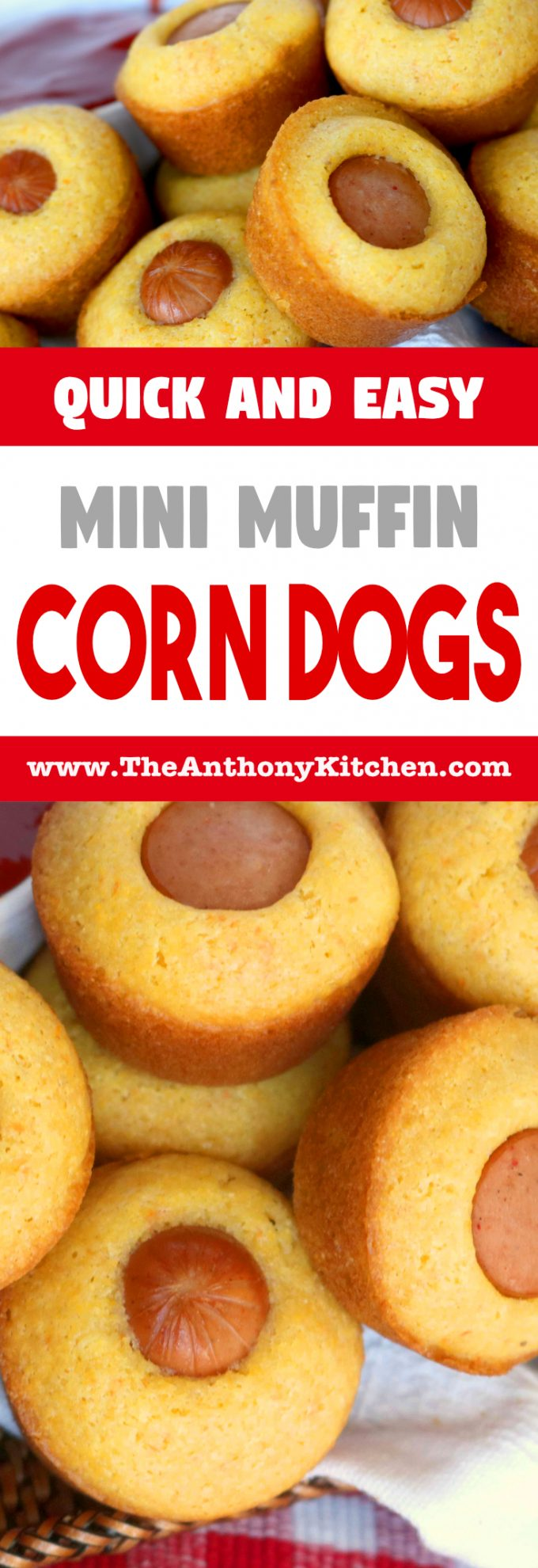 MINI MUFFIN CORN DOGS