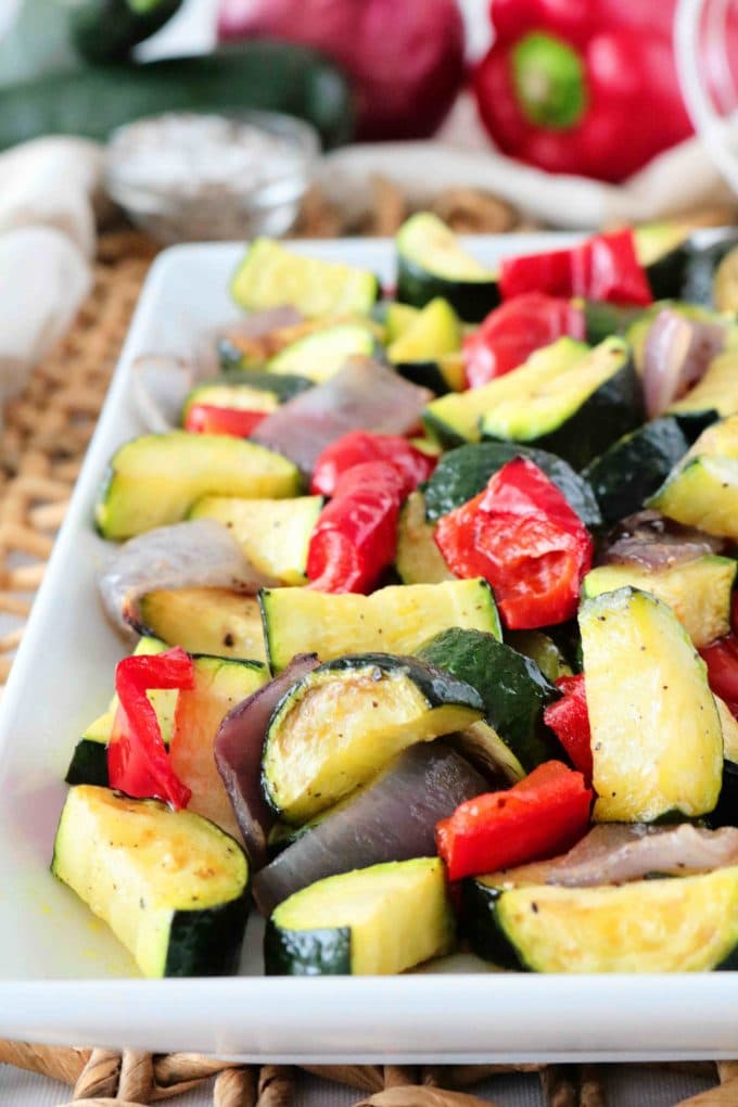 Oven-Roasted Zucchini