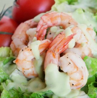 Shrimp and Tomato Salad