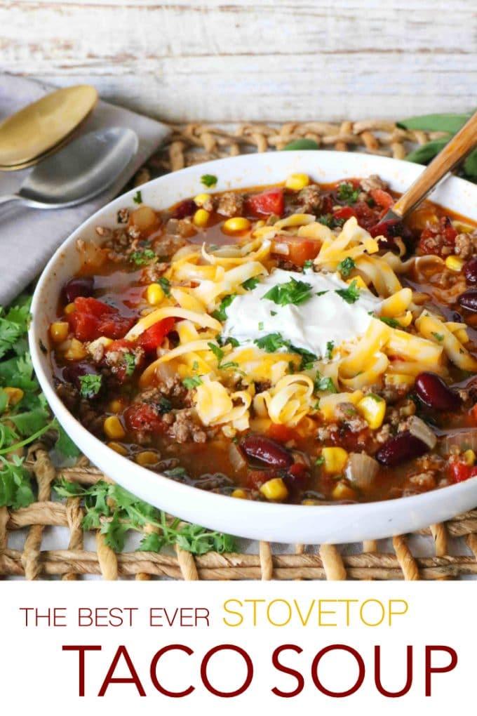 Stovetop Taco Soup
