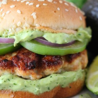 Green Chili Turkey Burger | Recipe