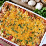 Stacked Enchilada Casserole | King Ranch Casserole