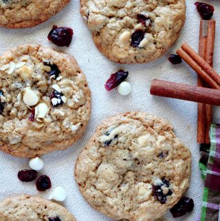 Oatmeal Cookies with Cranberries