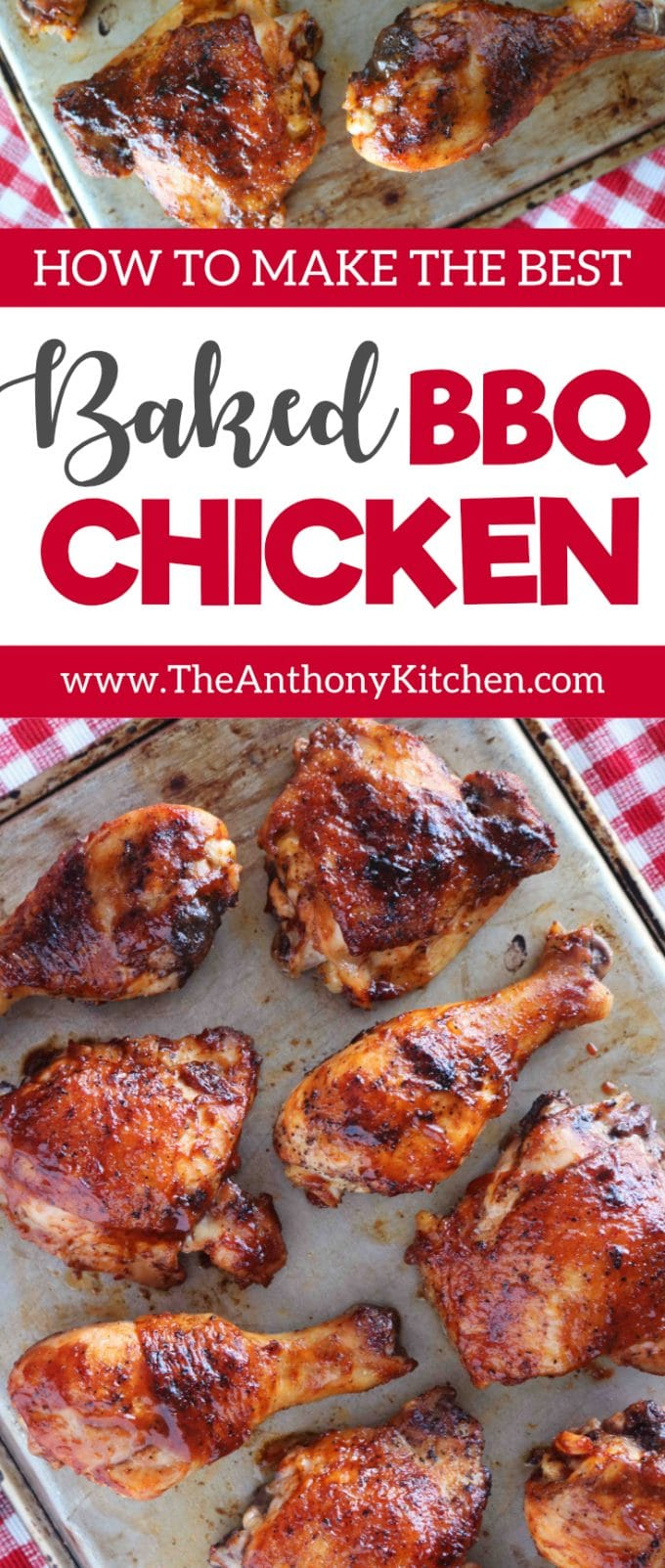 BEST BAKED BBQ CHICKEN