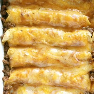 Tex-Mex Beef Enchiladas | Recipe