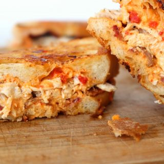 Grilled Pimento Cheese & Chicken Sandwiches | Recipe