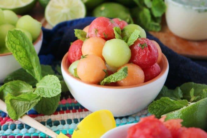 Melon Ball Fruit Salad