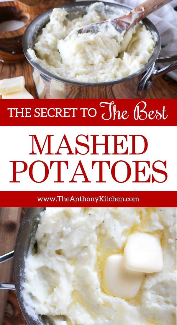 Simple Homemade Mashed Potatoes