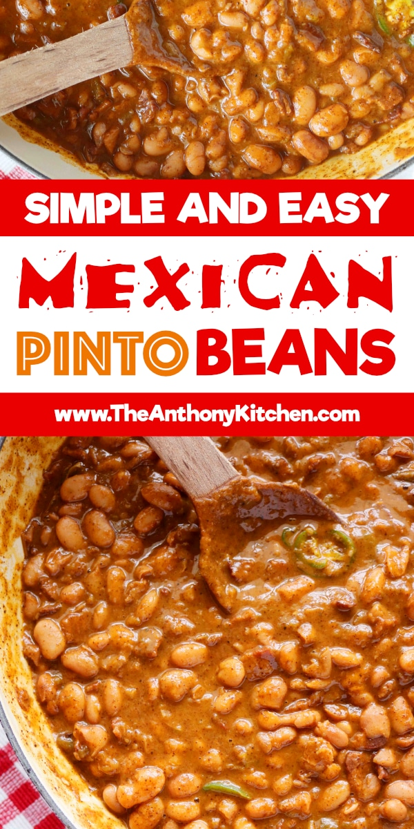 Best Mexican Pinto Beans