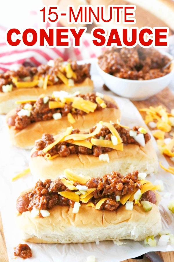 Easy Homemade Hot Dog Chili Recipe