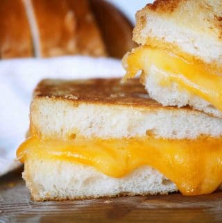 Havarti and Cheddar Grilled Cheese Sandwich | Recipe
