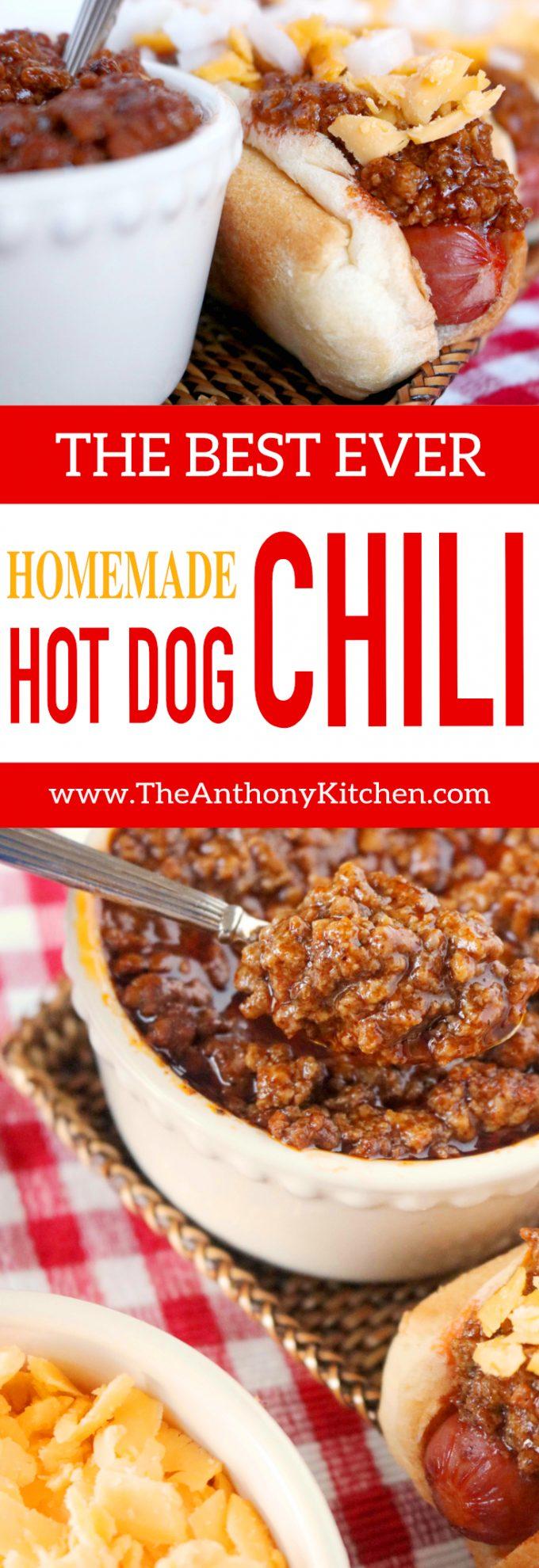 HOMEMADE HOT DOG CHILI | BEST CONEY SAUCE