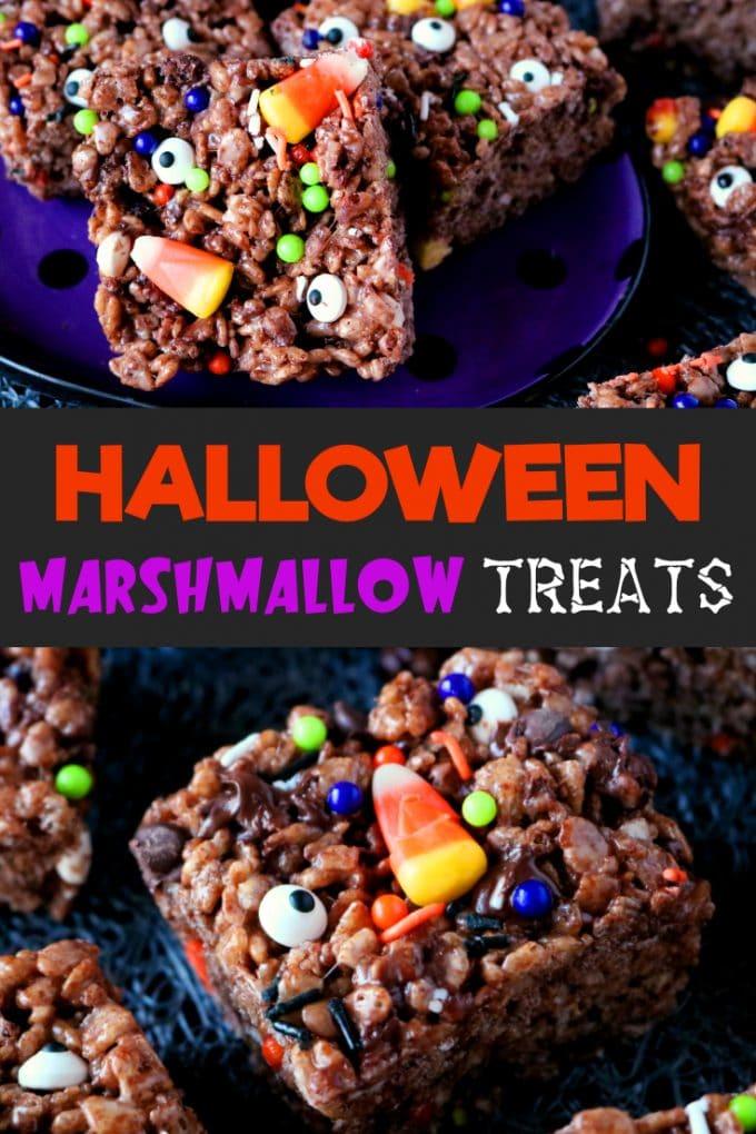 Halloween Marshmallow Treats