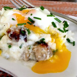 "Southerners' ""Poached"" Egg Casserole"