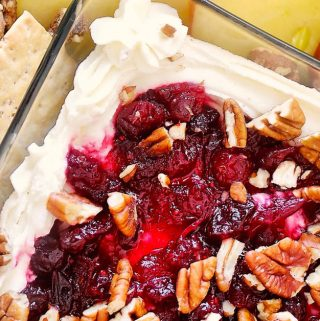 Whipped Goat Cheese with Cranberry Sauce & Pecans | Recipe