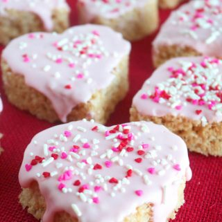 Valentine Marshmallow Crispy Treats | Recipe