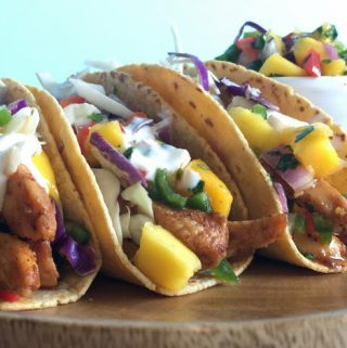 Chipotle Chicken Tacos with Mango Salsa | Recipe