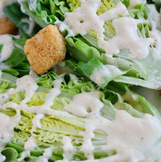Creamy Parmesan Caesar Salad | Recipe
