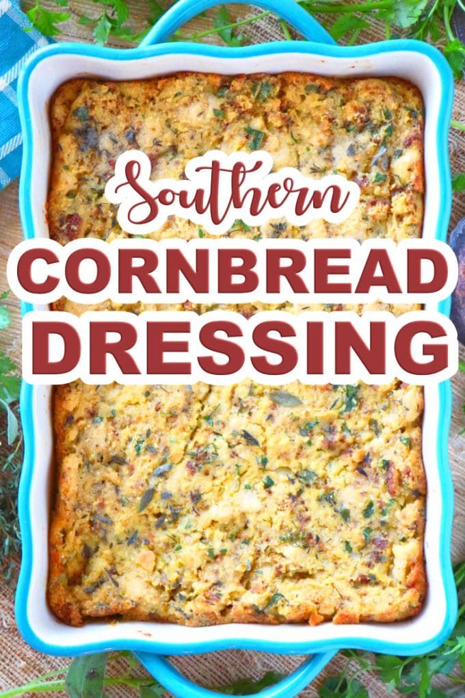 easy Southern Cornbread Dressing recipe