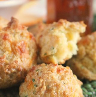 Easy Drop Biscuits with Cheddar and Chives