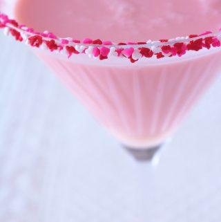 Cherry Cheesecake Cocktail