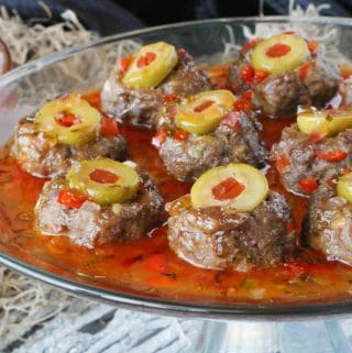 Halloween Meatballs Appetizer