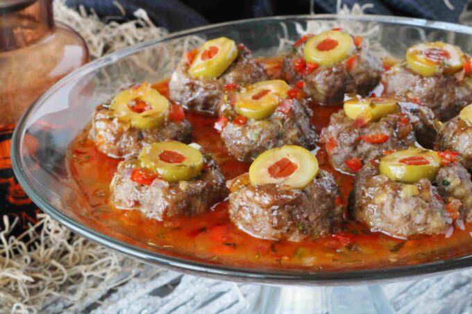 Halloween Meatballs Appetizer