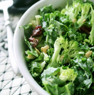 Kale and Broccoli Salad with Lemon Poppy- Seed Dressing | Recipe