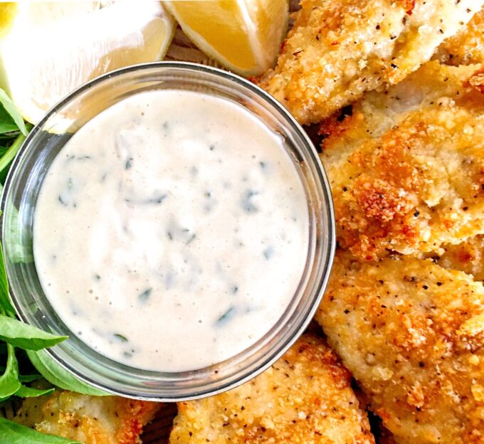 Try this simple dipping sauce as an addition to TAK's Baked Lemon-Parmesan Chicken Tenders or as a sandwich spread.