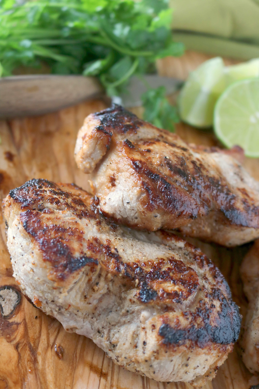 Cilantro and Lime Pork Chop Marinade