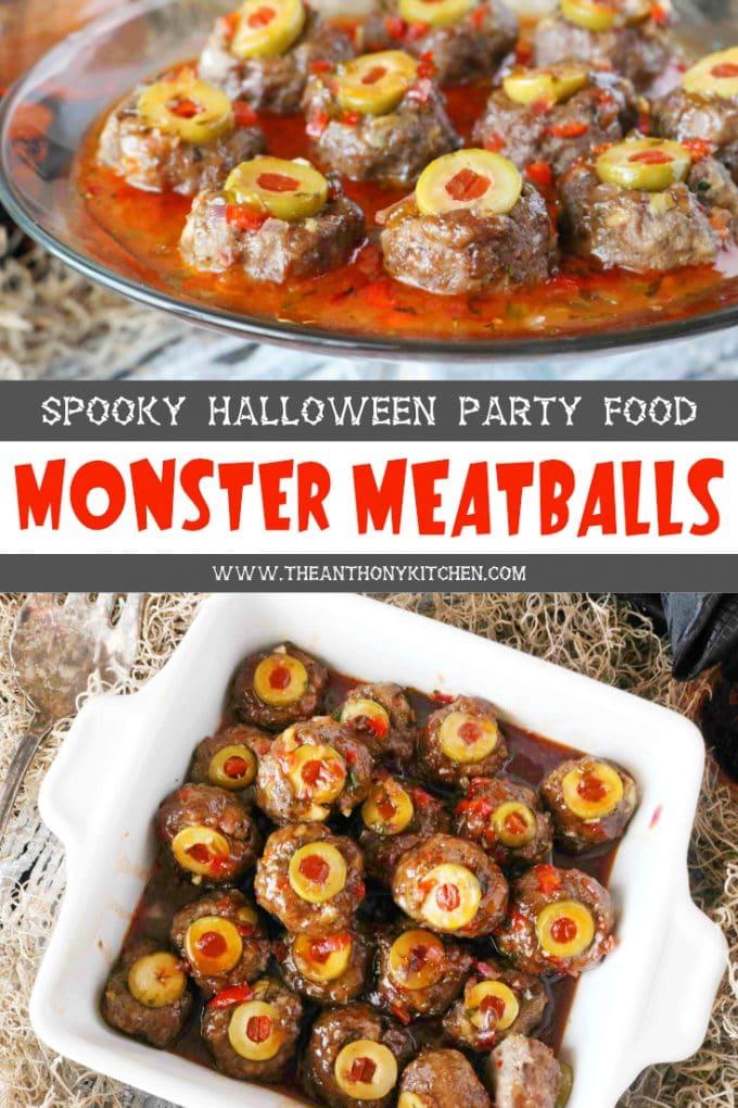 Halloween Meatballs
