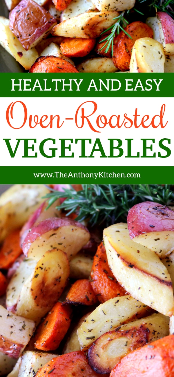 EASY OVEN-ROASTED VEGETABLES