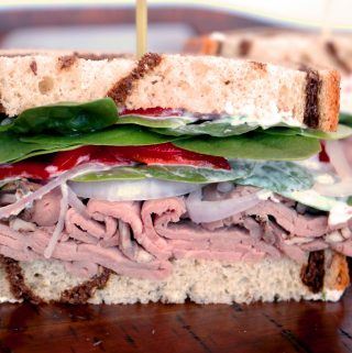 Roast Beef Sandwich Recipe with Creamy Horseradish Sauce | Recipe