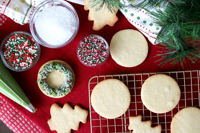 Christmas Wreath Cookies 1