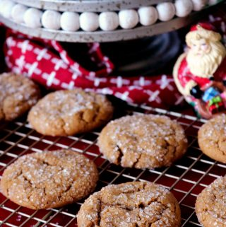 Ginger Molasses Cookies | Recipe