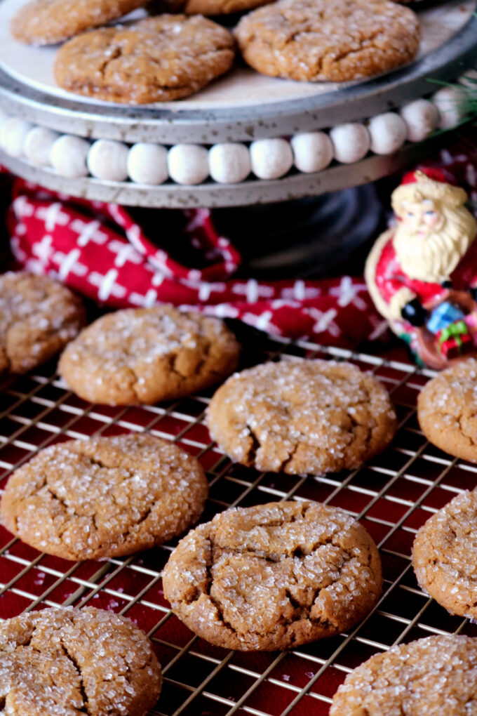 Soft Ginger Molasses Cookies Soft And Chewy The Anthony Kitchen