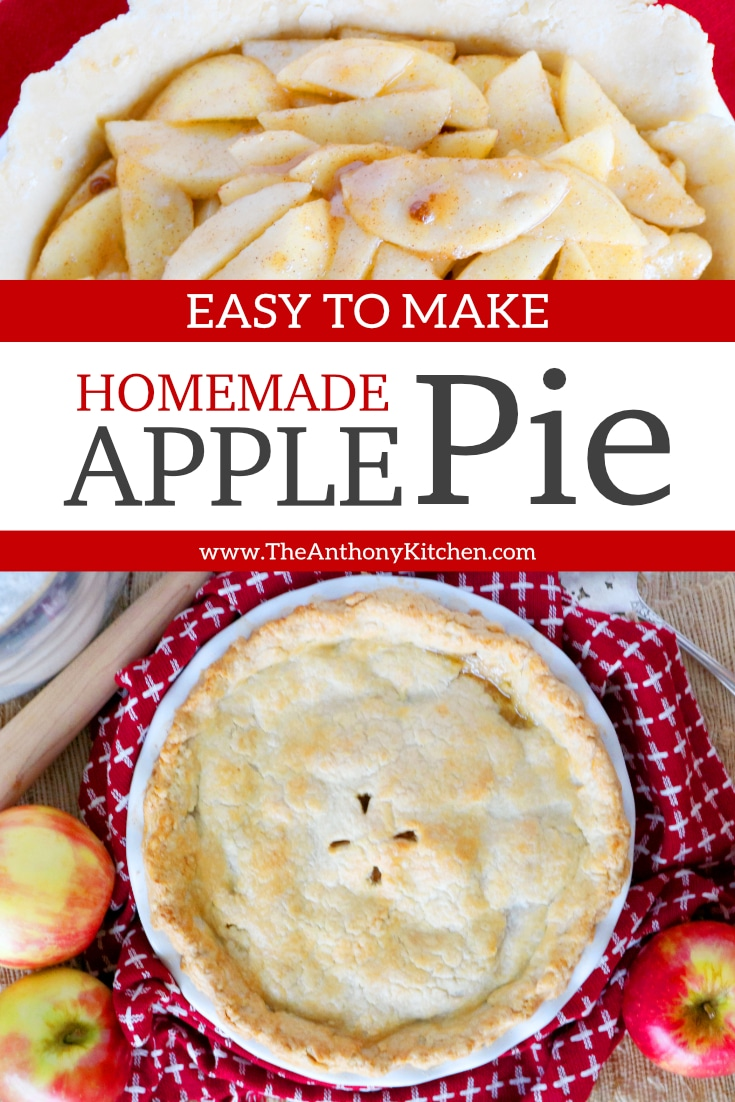 Easy Homemade Apple Pie Recipe From Scratch The Anthony Kitchen