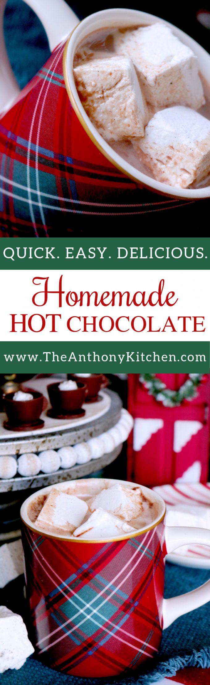 Pinterest image of Hot Chocolate