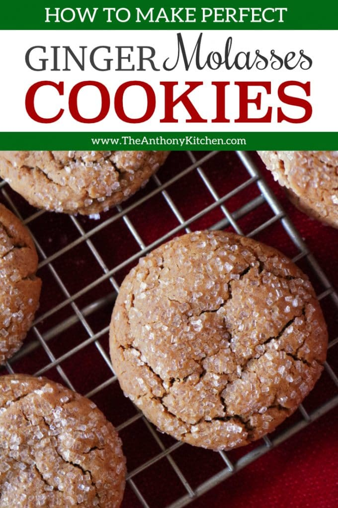 The Best Ginger Molasses Cookies